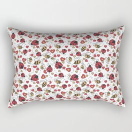 Bugs and Bees Rectangular Pillow