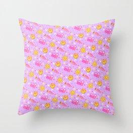 Usagi's Items Pattern / Sailor Moon  Throw Pillow