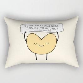 fortune cookie Rectangular Pillow