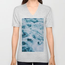 Sea And Ocean Waves 2 Unisex V-Neck