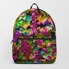 Boston Ivy Abstraction Distraction Backpack