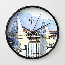 Camerata Nuova: cemetery Wall Clock