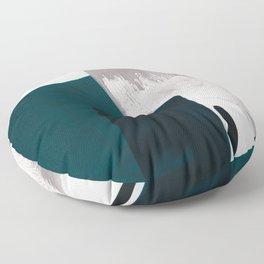 minimalist painting 02 Floor Pillow