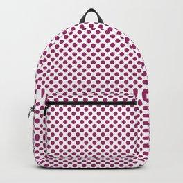 Festival Fuchsia Polka Dots Backpack