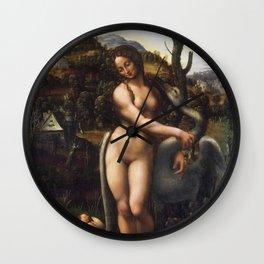 Leda and the Swan Wall Clock