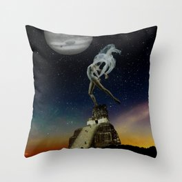 shapeless space Throw Pillow