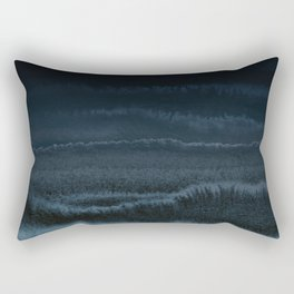 WITHIN THE TIDES NIGHT BEACH by Monika Strigel Rectangular Pillow