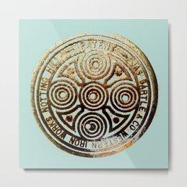 bronze relic, london, circa 2015 Metal Print