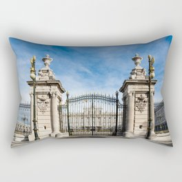Royal Palace in Madrid Rectangular Pillow