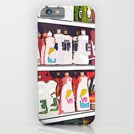 HOMEMADE POP ART SUPERMARKET iPhone Case