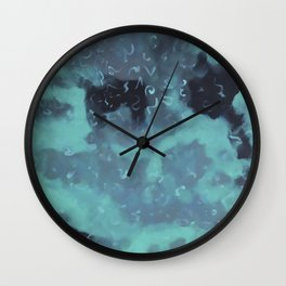 Abstract Camo Wall Clock