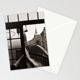 BERLIN TELETOWER - urban landscape Stationery Cards