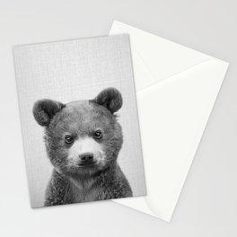Baby Bear - Black & White Stationery Cards