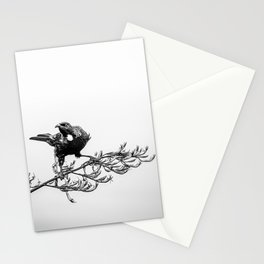 The Warrior Tui Stationery Cards