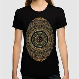 Fractal Kaleido Study 001 in CMR T-shirt
