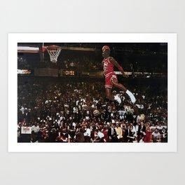 Michael Jor-dan Art Canvas-Basketball Winner Michael Jor-dan Art Poster Printed Picture Wall Art Decoration POSTER  Art Print