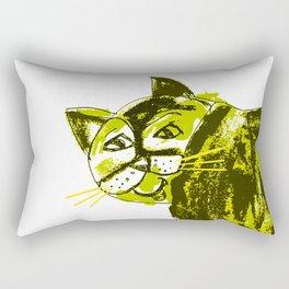 Fat cat 3 Rectangular Pillow