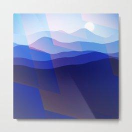 Magic Mountains N.2 Metal Print