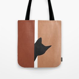 Peeking In Tote Bag