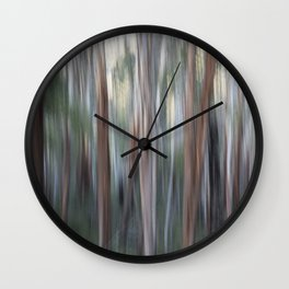 Gum trees Victorian high country Wall Clock