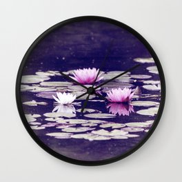 LOTUS I Wall Clock