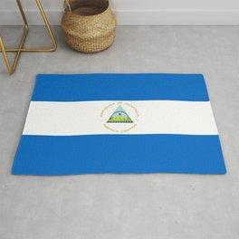 Nicaragua flag Rug