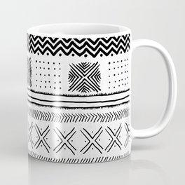 Mud Cloth Geometric Stripe Coffee Mug