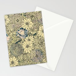 Exotic Flowers Garden Stationery Cards