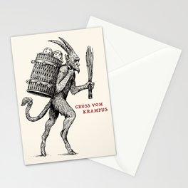 Gruss vom Krampus Stationery Cards