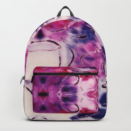 Wine & Flowers Photographic Pattern #2 Backpack
