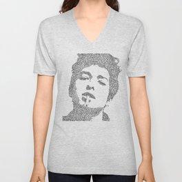 Bob Dylan Unisex V-Neck
