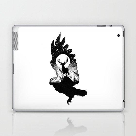 THE OWL AND THE DEER II Laptop & iPad Skin