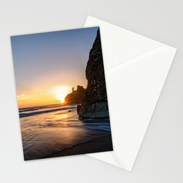 Ruby Beach Sunset Washington Olympic National Park Pacific Ocean Landscape Stationery Cards