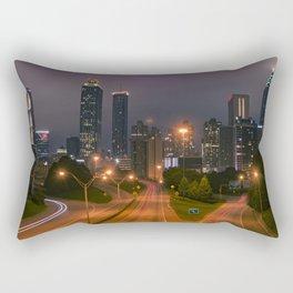 Atlanta, Early Morning Rectangular Pillow