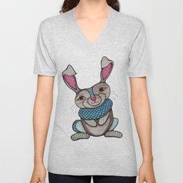 Magical Rabbit Unisex V-Neck