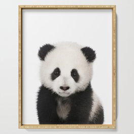 Panda Cub Serving Tray