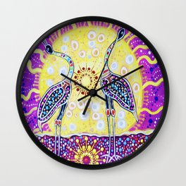 Burralga Brogla 2 Wall Clock