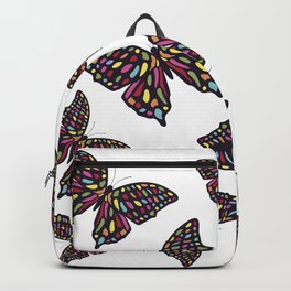 Mosaic Butterfly Backpack