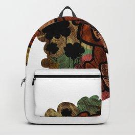 Abstract Graffiti Bear Backpack