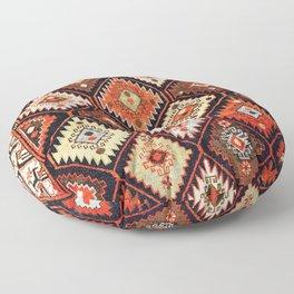 Derbent Daghestan Northeast Caucasus Rug Print Floor Pillow