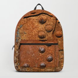 Rusty metal wall surface Backpack