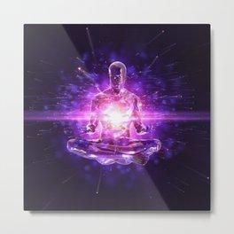 Energy Healing Metal Print