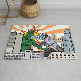 Wind Up Kaiju Fight Rug