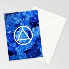 Sapphire Candy Gem Stationery Cards