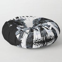 Abbey Road Walking Floor Pillow