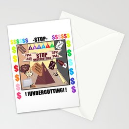 STOP UNDERCUTTING !! Stationery Cards