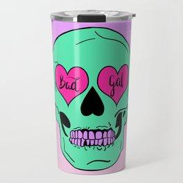Bad Gal Skull Travel Mug