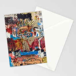 My vision became blurred Stationery Cards