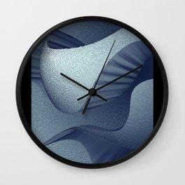 Soundscape: Blue Wall Clock