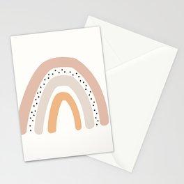 Boho Rainbow Blush Stationery Cards